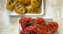 Poivrons rouge/jaune grillés