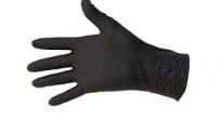 Gants protect nitrile black S-M-L