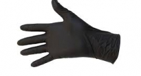 Handschoenen protect nitrile black S-M-L